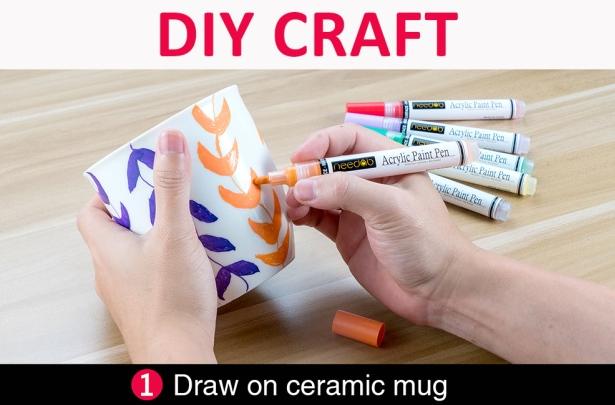 Ceramic mug pain